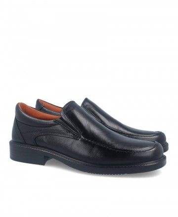 Luisetti 0106 Confort Step black work shoes