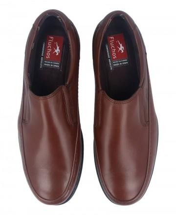 Catchalot Zapatos planos sin cordones Fluchos Luca marrones 8499