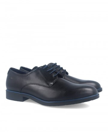 Fluchos Coloso black Derby shoes 9834