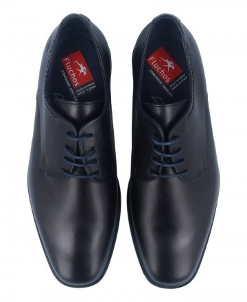 Catchalot Zapatos Derby Fluchos Coloso negros 9834
