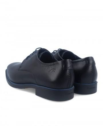 Fluchos Coloso black Derby shoes 9834