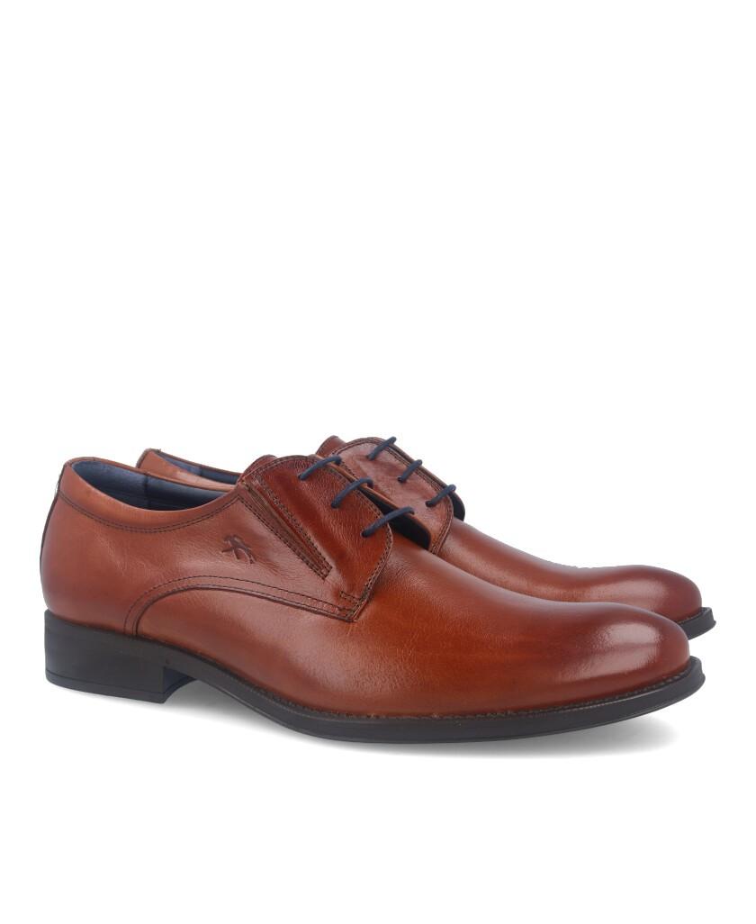 Zapatos Fluchos HeraclesF 8410 Memory Cuero