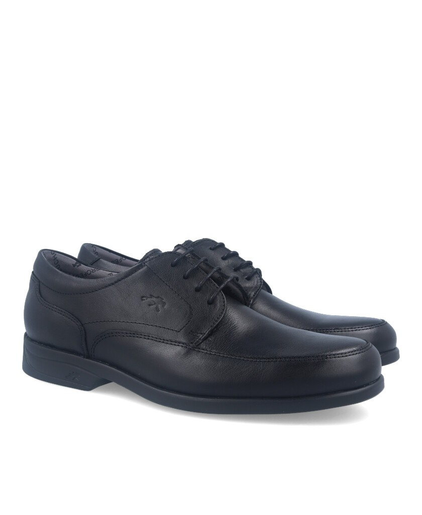 Zapatos cordones Fluchos Maitre 8903 negro