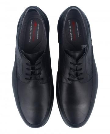 Catchalot Zapatos cordones Fluchos Maitre 8903 negro