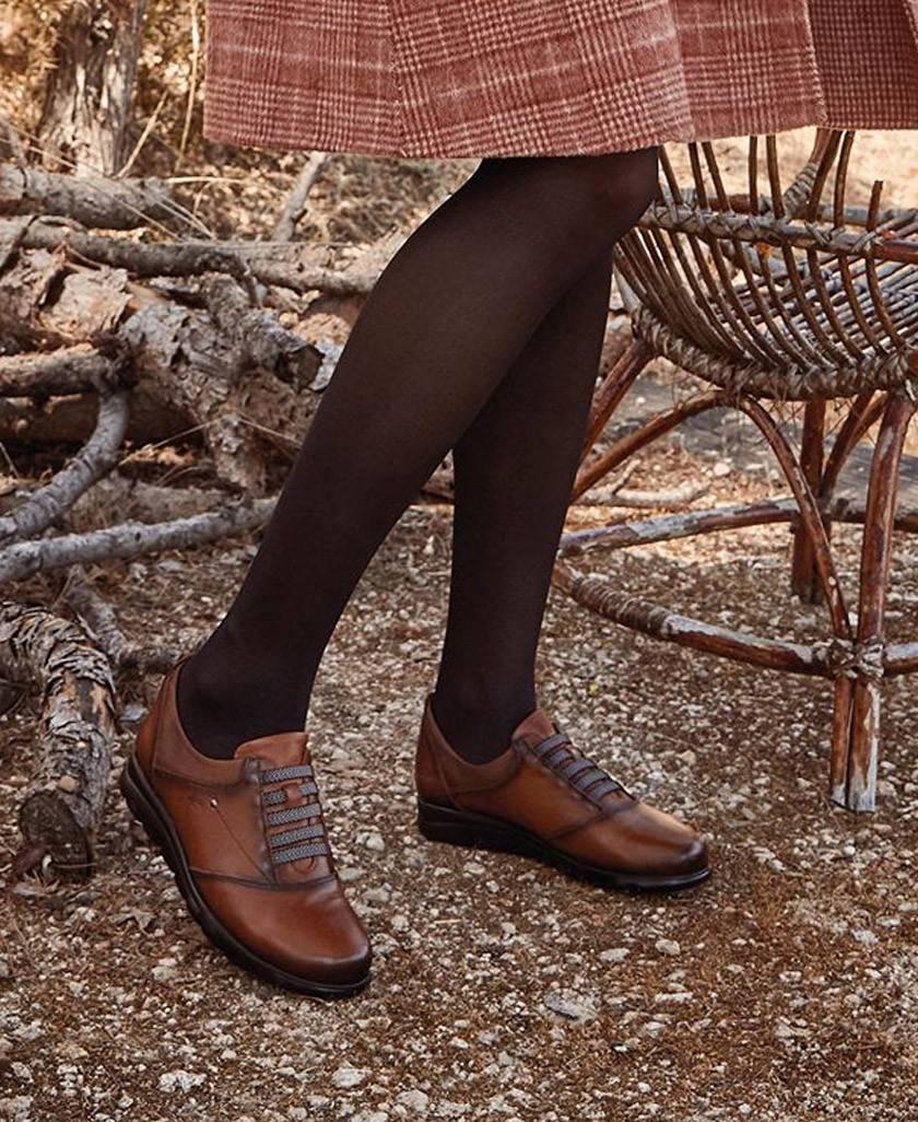 Zapatos color cuero Fluchos Susan