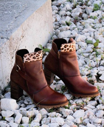 Tambi Spider leather ankle boots