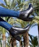 Tambi Aretha high heel black ankle boot