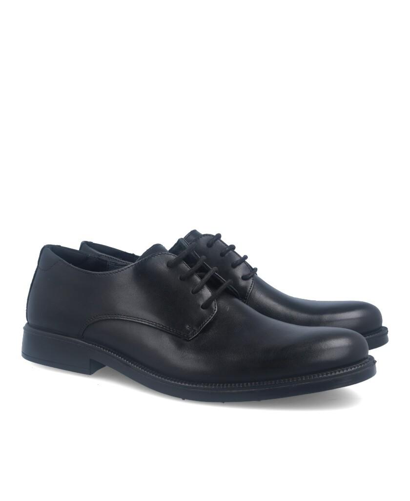 Shoes man leather Imac 200240 black