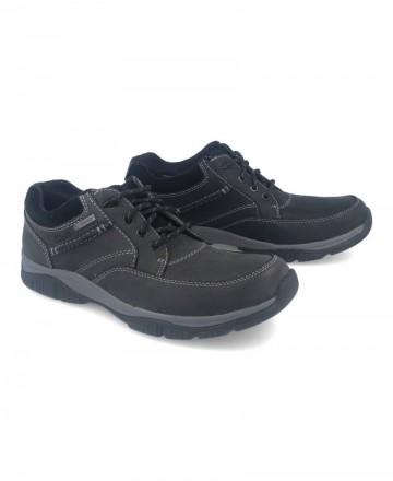 Catchalot Zapatos impermeables para hombre Clarks 26102515-gtx negro