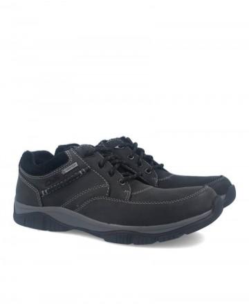 Clarks 26102515-gtx men's waterproof shoes black