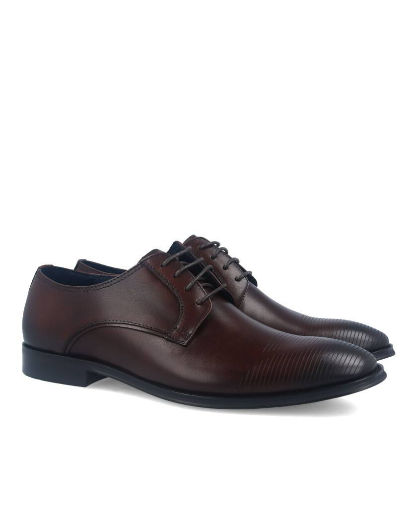 Zapatos de hombre Hobbs MA067202-02-14611 marrón