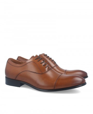 Hobbs M55 839 10S leather lace-up dress shoes