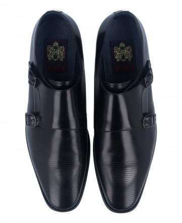 Zapatos de fiesta hombre Hobbs MA067203-14610 negro