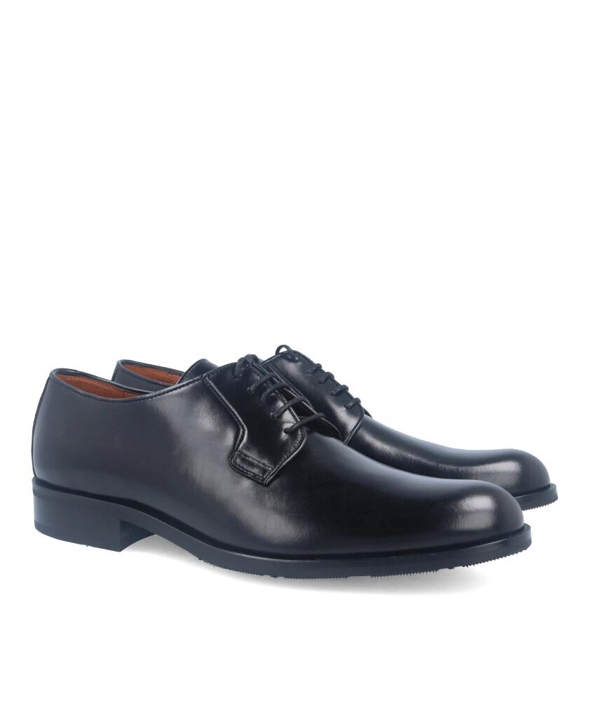 Zapato negro Sergio Serrano Liso Gaucho 2700