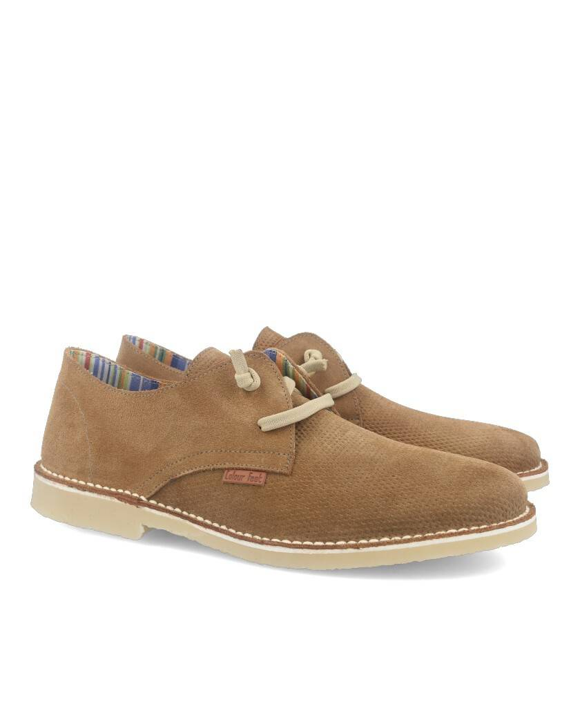 Catchalot Khaled taupe men's shoes