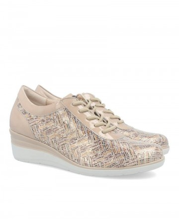 Pitillos 6024 wedge sneakers