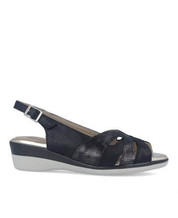 Low wedge sandals Pitillos 6011