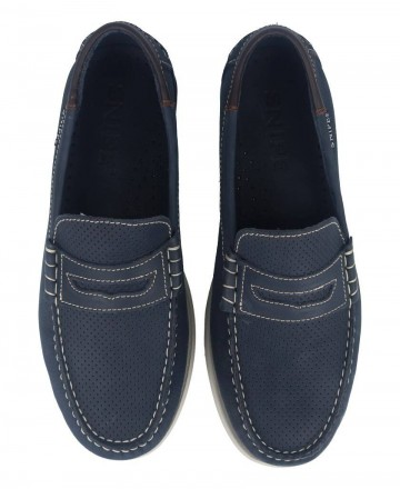 Catchalot Snipe 05085C navy blue boat shoes