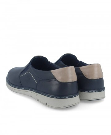 Comfortable shoes Notton 176 navy blue