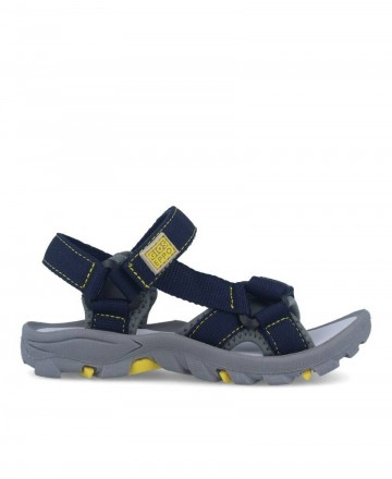 Gioseppo 59029 navy blue strap sandals