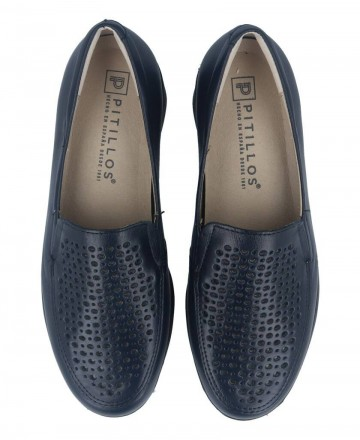 Catchalot Pitillos blue wedge loafers 2001
