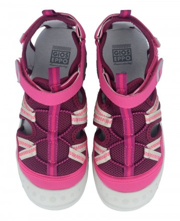 Catchalot Girls closed sandals Gioseppo 59016 pink