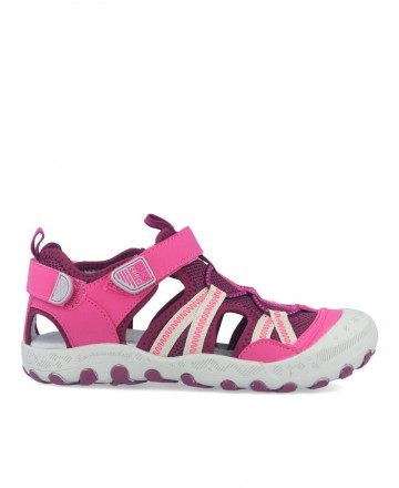 Girls closed sandals Gioseppo 59016 pink