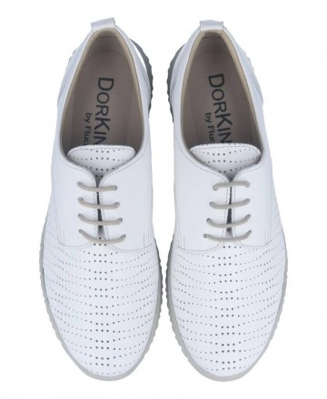 Catchalot White shoes with laces Dorking D8230