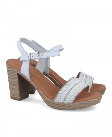 Catchalot 4726-1226 Heeled Sandals White