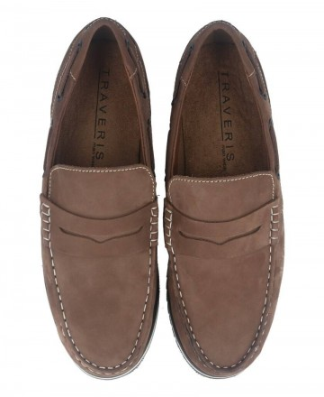 Catchalot Traveris 2345 taupe leather loafer