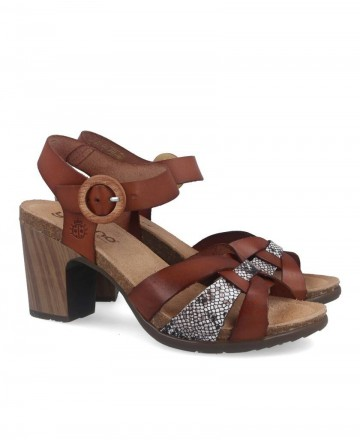 Yokono Floren 001 leather heeled sandals
