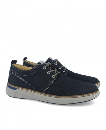 Comfortable navy blue shoes Myers G385-S20009