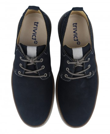 Catchalot Comfortable navy blue shoes Myers G385-S20009