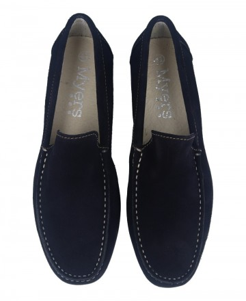 Catchalot Catchalot 80737 Navy Suede Loafers