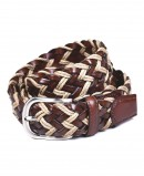 Miguel Bellido 455-35 braided leather belt