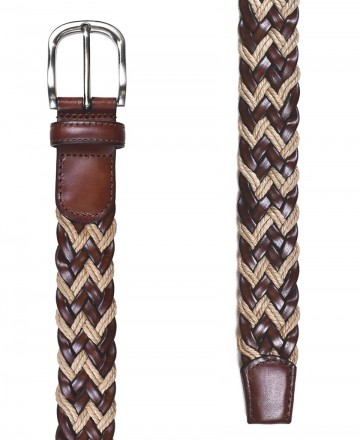 Catchalot Miguel Bellido 455-35 braided leather belt