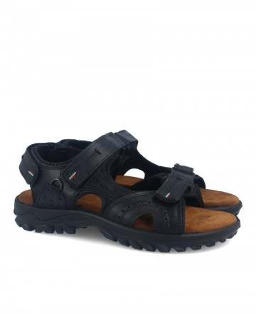 Urban technical sandals in black Grisport 40506