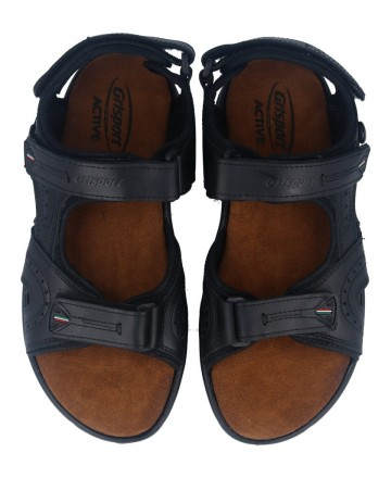 Catchalot Urban technical sandals in black Grisport 40506