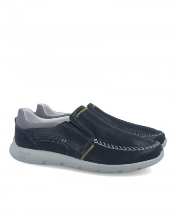 Grisport 43904 slip-on sporty nautical shoes