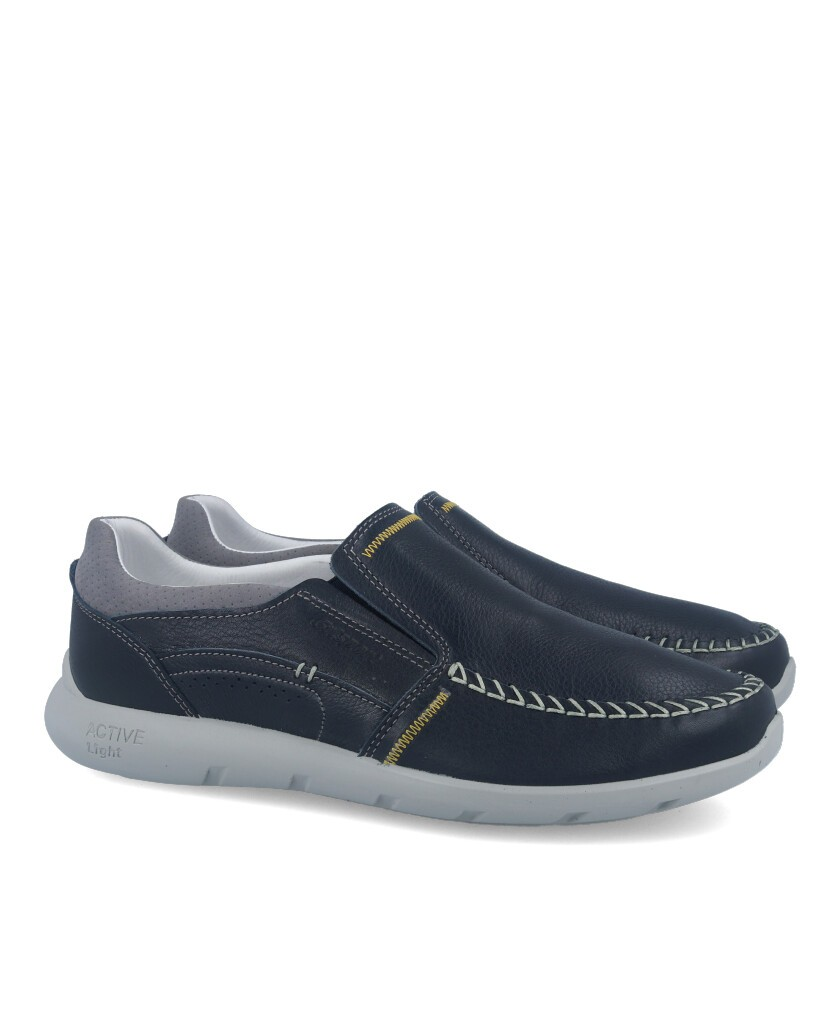 Sporty nautical shoes without laces Grisport 43904