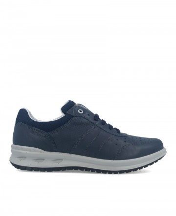 Grisport 43055 blue leather shoes