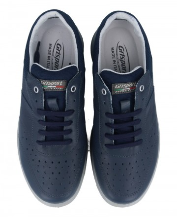 Catchalot Grisport 43055 blue leather shoes