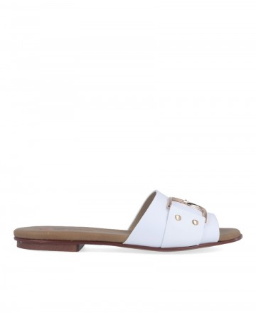 Buy White sandal Repo Phil Gatiér 72157