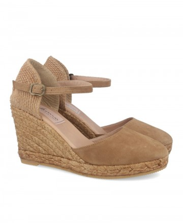 women shoes -  Gaimo Obi Camel Espadrilles