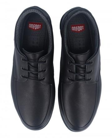 Catchalot Zapatos de piel On Foot 8901 negro