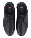 On Foot 8901 black Leather Shoes