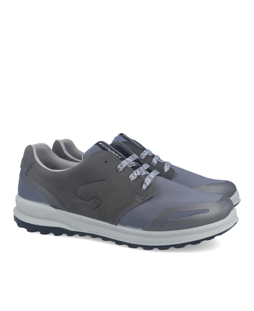 Men's sport shoes in gray Grisport 43327