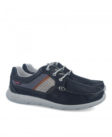 Grisport 43900 blue men's sport boat shoes