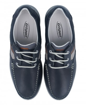 Catchalot Grisport 43900 blue men's sport boat shoes