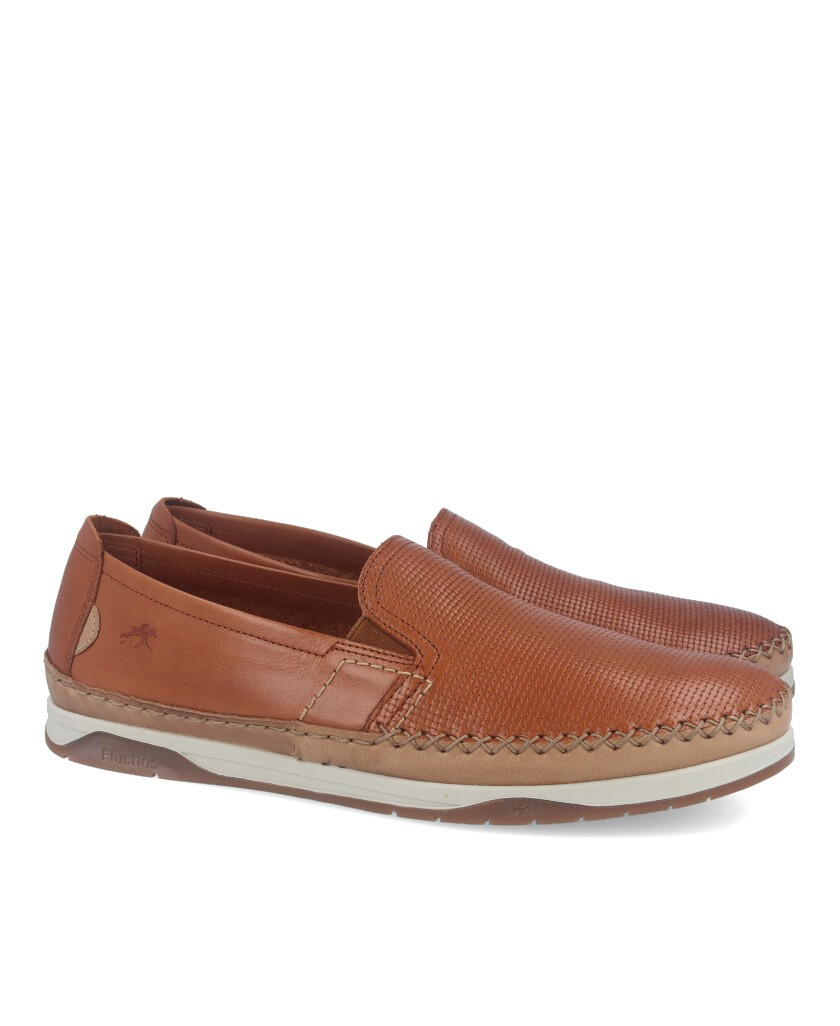 Casual shoes without laces Fluchos Kendal Habana F0814